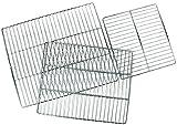 Witeg IRU420 - Griglia per armadio, in acciaio INOX, per WIR-420