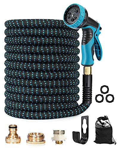 Trongle Expandable Garden Hose Pipe, 150FT/45M Pipe with 10 Function Spray...