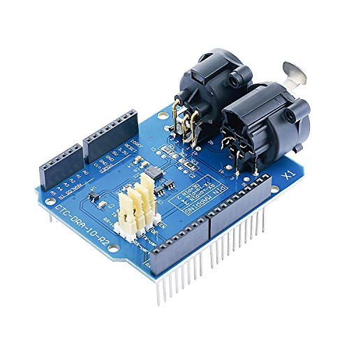 CQRobot DMX Shield MAX485 Chipset Compatible with Arduino Board (RDM Capable), Device into DMX512 Network, LED/Music Remote Device Management Capable, Extended DMX Master.