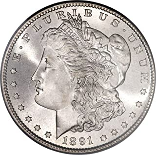 1891 O Morgan Dollar $1 About Uncirculated