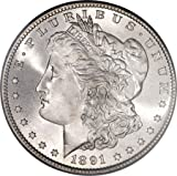 1891 S Morgan Dollar $1 About Uncirculated