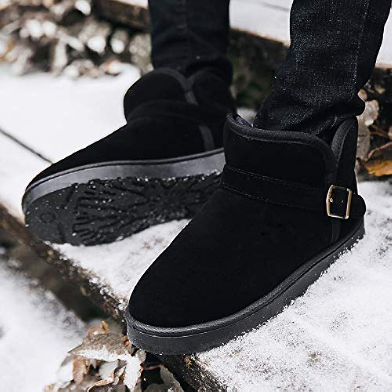 LOVDRAM Stiefel Mnner Winter Schnee Stiefel Herren Warme Baumwolle Dicke Warme Baumwolle Schuhe Herren Winterschuhe Paar Martin Kurze Stiefel Brot Schuhe