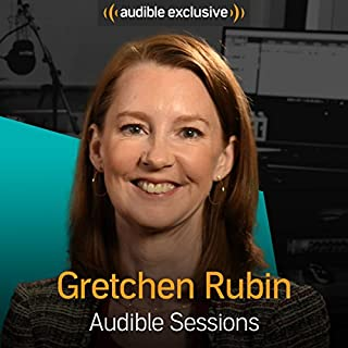 Gretchen Rubin     Audible Sessions: FREE Excusive Interview              By:                                                                                                                                 Holly Newson                               Narrated by:                                                                                                                                 Gretchen Rubin                      Length: 12 mins     11 ratings     Overall 4.1