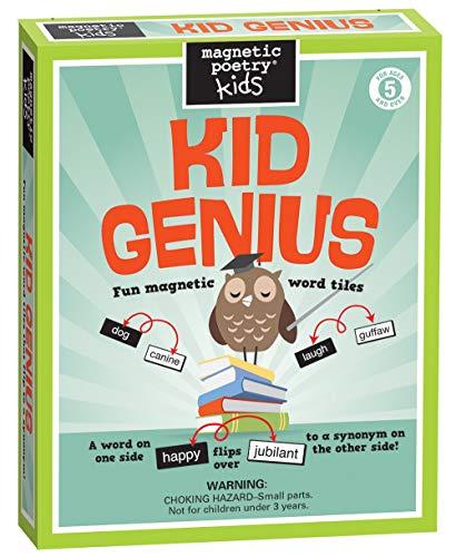 Kid Genius Koelkast Magneet Poëzie Set - Brainy Koelkast Poëzie