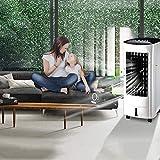Wuyeti Aire Acondicionado, 3 velocidades eléctrico del refrigerador de Aire silencioso Timing Soporte for Office Dormitorio Principal - Blanco