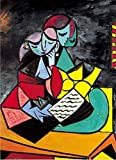 Paint by Numbers for Adults Picasso Two Reading Digital Oil Canvas Painting Kits for Children Kids Birthday Wedding New Accommodation Home Decorations Gifts