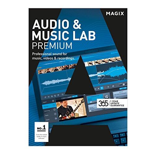 MAGIX Audio & Music Lab – 2017 Premium – Édition audio perfectionnée pour une optimisation vidéo révolutionnaire [Téléchargement]