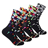 Compressprint Men and Women Cycling Socks 4 Pairs Sports Socks...