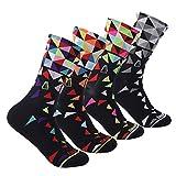 2. Compressprint Men and Women Cycling Socks 4 Pairs Sports Socks Comprssion Running Socks (Mixed Color) (Mixed Color) …