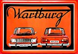 Tin Sign Blechschild 20x30 cm Wartburg 353 DDR Kult Auto