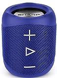 Sharp GX-BT180(BL) - Altoparlante portatile Bluetooth IP56, resistente agli spruzzi, durata 10 ore, colore: Blue