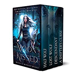 Moon Kissed: Wolves of Midnight Bundle (English Edition) van [Aimee Easterling, Stacy Claflin, S.M. Gaither, Raven Steele, Ava Mason]