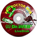 Pro Doctor Web 2020 Bootable PC Virus Remover Recovery Restore Repair Reboot Fix DVD Is a Powerful Bootable Antivirus Program that Supports Updates, is Extremely Simple to Use and Effective Suite.