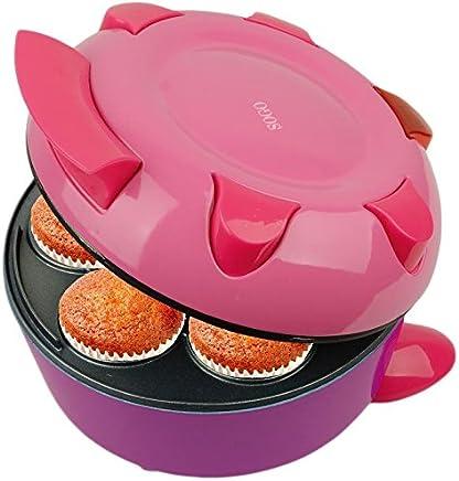 700W di potenza waffle fino a 7 posti dolci //muffin Macchina elettrica Sforna Cupcake