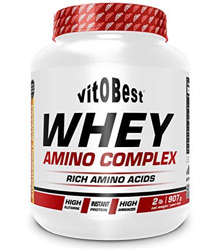 WHEY AMINO COMPLEX 2 lb CHOCOLATE - Suplementos Alimentación y Suplementos Deportivos - Vitobest