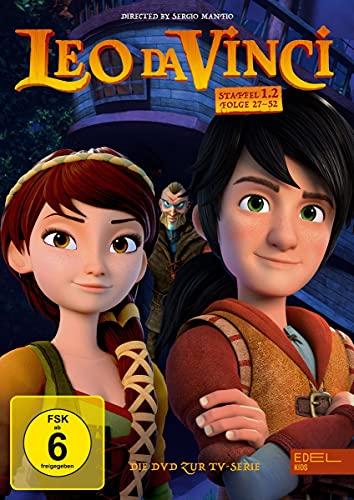 Leo da Vinci - DVD-Staffelbox 1.2 (27 - 52) - Die DVD zur TV-Serie [2 DVDs]