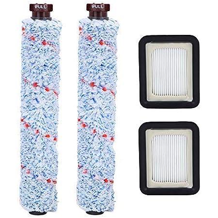 QAQGEAR Parti di Ricambio per Bissell Crosswave 1934//1868//1866 Rotolo di spazzole per tappeti Rotolo di spazzole multisuperficie Spazzola di Pulizia del Filtro per aspirapolvere