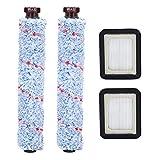Accesorios para aspiradoras Roller Brush Filter for Bissell Crosswave 1785 Series Aspiradora Herramienta de limpieza de reemplazo Accesorio