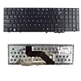 New Laptop Keyboard Replacement for HP Probook 6550B 6555B 6545B 6540B P/N:574746-001 584234-071 583293-001 PK1307E1C00 V103202BS1 V103226BS1 MP-09A83US-698 US Layout Black Color