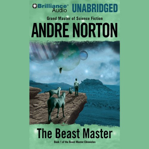 The Beast Master audiobook cover art