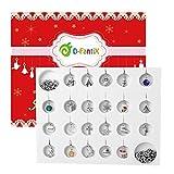 D-FantiX Jewelry Advent Calendar for Girls 2021 Christmas Advent Calendar DIY Bracelet Necklace...