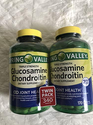 Spring Valley Glucosamine e Condroitin