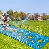 Cowslip Tobogán de agua para césped, para niños, 4,2 x 1,09 m