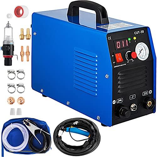 Mophorn Cortadora de Plasma 220V Máquina de Corte 50A CUT-50 Cortadora de Plasma Máquina de Corte por Plasma de Aire para Meta