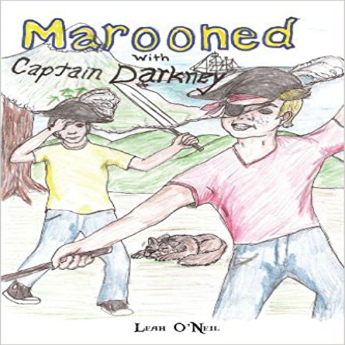 Marooned with Captain Darkney audiobook cover art