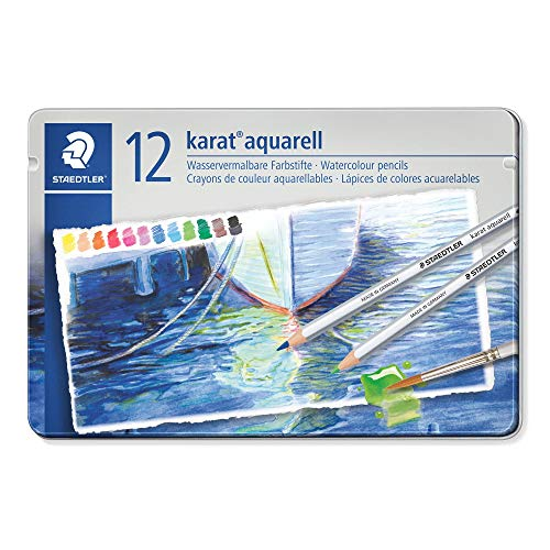 Set 125 M12 12 color Dilshan Aku~ereru watercolor pencil (japan import) by Staedtler