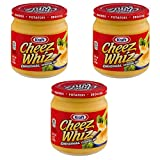 Kraft Cheez Whiz Original Cheese Dip, 15 oz (pack of 3)...