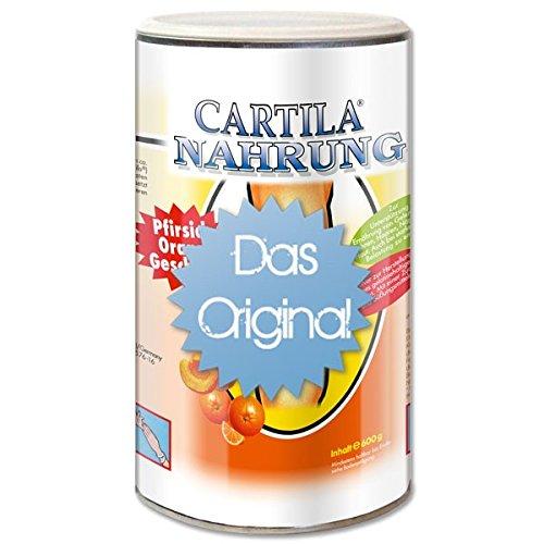 Cartila Gelenk-Nahrung - Kollagenhydrolysat - 600g Pfirsich-Orange