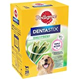 Pedigree Dentastix Fresh - Friandises pour Grand Chien, Lot de 4 (4 x 28 = 112 Bâtonnets à Mâcher au total)