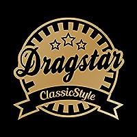 Dragstar Classic Style カッティング ステッカー ゴールド 金