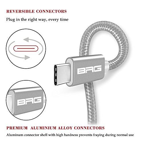 AmazonBRGCo『USBTypeCケーブル(3本セット)』