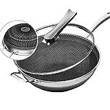 Smoke-Free Stir Fry Pan 12