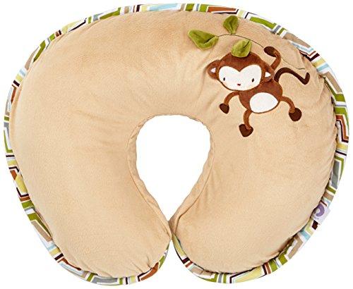 Boppy 8079903330000cuscino per allattamento, in velluto, Monkey Chevron