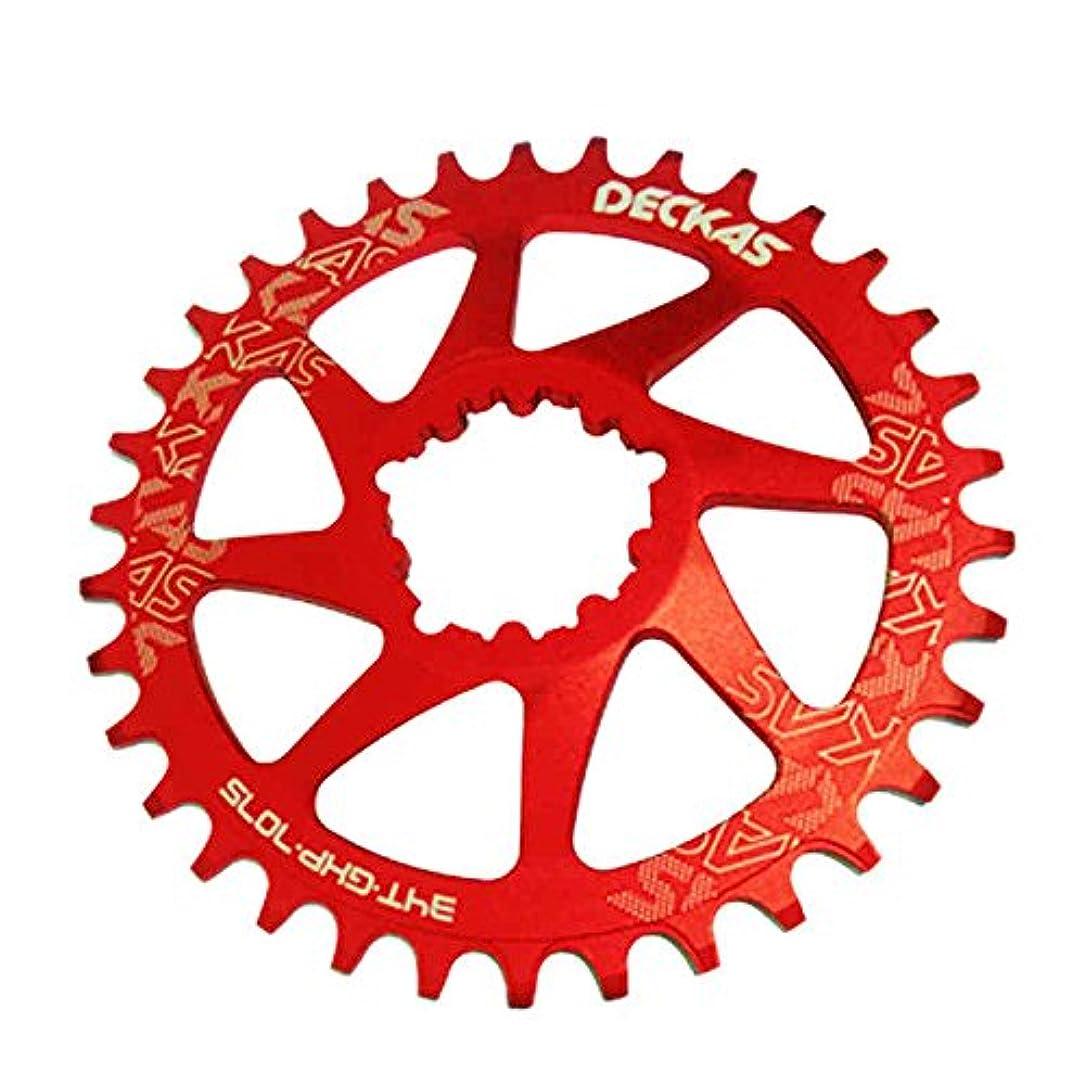 メジャーライバルクリエイティブPropenary - GXP bicycle crankset Al 7075 CNC32T 34T Narrow Wide Chainring Chainwheel for Sram XX1 XO1 X1 GX XO X9 crankset bicycle parts [ 38T Red ]