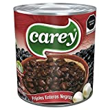 CAREY Frijoles Enteros Negros, Alubias para Cocina Mexicana, Bote de 3kg