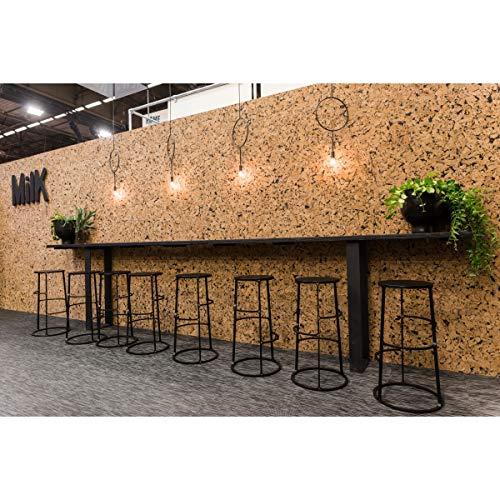 Biosughero - Revestimiento de Corcho Mary (Dimensiones del Panel: 600 x 450 x 3 mm, Paquete de 11 Unidades Igual a 2,97 m²)