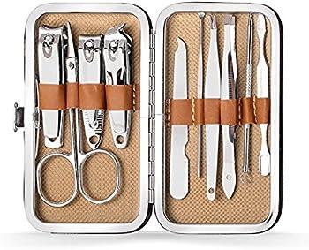 Atimier 10-in-1 Nail Clipper Manicure Set