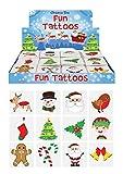 Henbrandt 48 x Christmas Children's Temporary Tattoos (4 packs of 12)