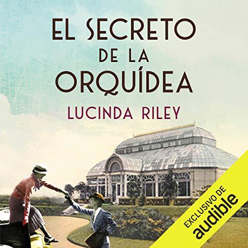 Diseño de la portada del título El secreto de la orquídea