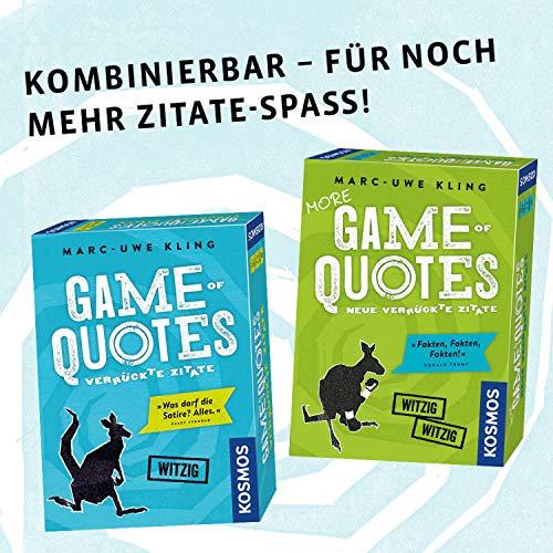 KOSMOS 692926 – Game of Quotes - 5