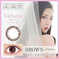 ヴィクトリア 2ウィーク 1箱6枚入 【カラー】ブラウン 【度数】-4.75