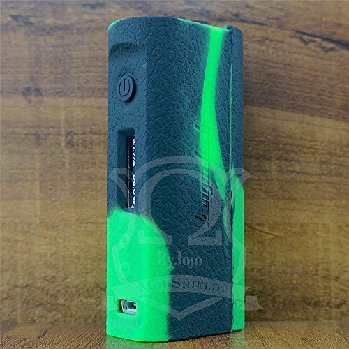 ModShield for KBOX SUBOX MINI-C 50W Silicone Case ByJojo Kanger Mini C Skin Sleeve Cover Shield Wrap (Green/Black)