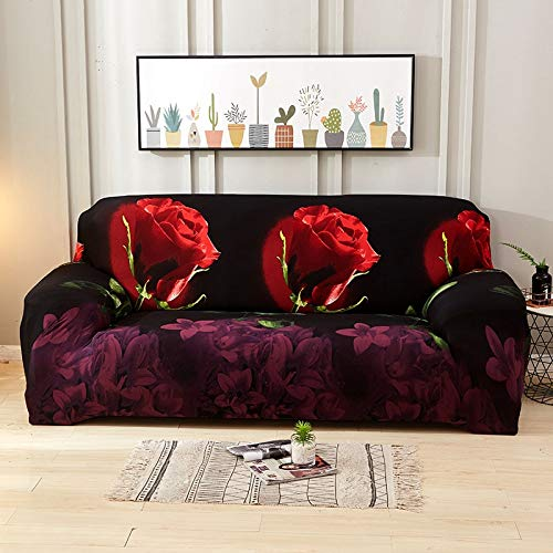 WXQY Fundas elásticas para sofá, Funda Moderna para sofá para Sala de Estar, Esquina seccional, en Forma de L, Protector de Silla, Funda para sofá A17, 3 plazas