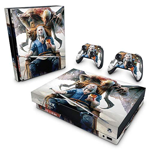 Skin Adesivo para Xbox One X - The Witcher 3 Blood And Wine