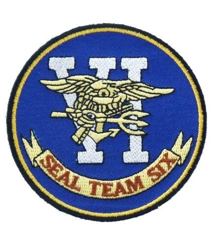Patch Navy Seal Team 6 Patches US Army Sew Iron on Embroidered Applique Patches Logo Emblem Military Tactical Morale Untidet State