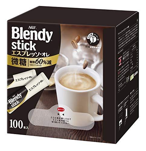 AGF ブレンディ スティック エスプレッソ・オレ 微糖 100本 【 スティックコーヒー 】【 微糖 】